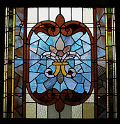 Architecture Glass Art - Stained Glass LC 19 by Thomas Woolworth