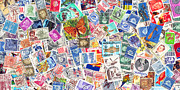Wingsdomain Art and Photography - Stamp Collection . 2 to 1 Proportion