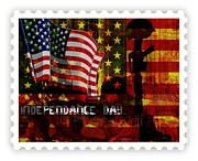 Barack Mixed Media Posters - Stamp Your Freedom  Poster by Fania Simon