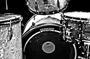 Drum Metal Prints - Star Drums Four Metal Print by Sam Hymas