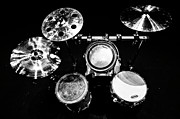 Drum Metal Prints - Star Drums One Metal Print by Sam Hymas