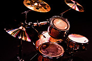Drum Metal Prints - Star Drums Three Metal Print by Sam Hymas