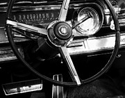 Brake Pedal Acrylic Prints - Starship Cadillac Acrylic Print by Joe JAKE Pratt