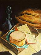 Diane Kraudelt - Still Life Of Cheese