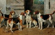 John Emms - Study of Hounds
