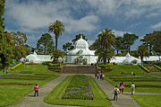 Conservatory Of Flowers Photos - Summer at the Conservatory by Tim Mulina