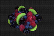 Kitchen Wall Originals - Summer Fruit Medley by Michael Waters