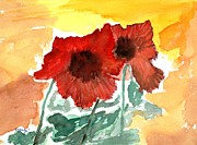 Evening Flower Originals - Summers Here by Geegee W