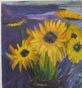 Carolyn Zaroff - Sunflowers of My Mind