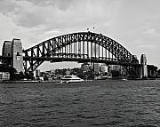 Chris Smith - Sydney Harbour Bridge in Black and...