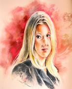 Portraits - Tara Summers in Boston Legal by Miki De Goodaboom