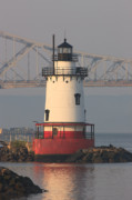 Clarence Holmes - Tarrytown Lighthouse and Tappan Zee...