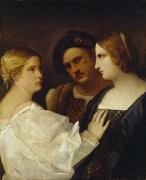 Pleading Framed Prints - The Appeal  Framed Print by Tiziano Vecellio Titian