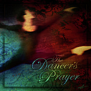 Ballerina Mixed Media Posters - The Dancers Prayer Poster by Shevon Johnson