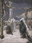 Pleading Framed Prints - The Death of Jesus Framed Print by Tissot
