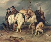 Sir Edwin Landseer - The Deerstalkers Return