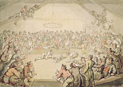 Thomas Rowlandson - The Dog Fight