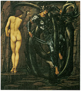 Burne Posters - The Doom fulfilled Poster by Edward Burne-Jones