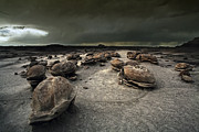 Monsoon Posters - The Egg Factory - Bisti Badlands Poster by Keith Kapple