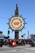 Wingsdomain Art and Photography - The Fishermans Wharf Sign . San...