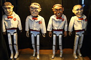 Wingsdomain Art and Photography - The Four Amigos At The Musee Mecanique...
