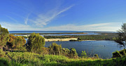 Gippsland Prints - The Gippsland Lakes Print by Terry Everson