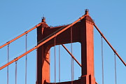 Wingsdomain Art and Photography - The Golden Gate Bridge Up Close . San...