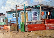 Shack Originals - The Green Gate by Roelof Rossouw