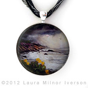 California Jewelry - The Last Storm Pendant by Laura Iverson