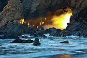 Big Sur Photos - The Light by Mark Christian