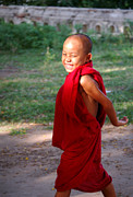 RicardMN Photography - The little monk of Mingun
