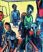 Handicapped Paintings - The Lower Room by Kenneth Agnello