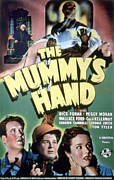 1940 Movies Metal Prints - The Mummys Hand, Tom Tyler, 1940 Metal Print by Everett
