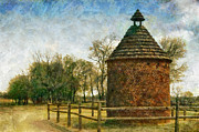 Dovecote Framed Prints - The Old Pigeonaire Framed Print by Susan Isakson
