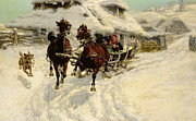 JFJ Vesin - The Sleigh Ride