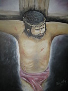 Condemnation Paintings - The suffering by Vanderbill King
