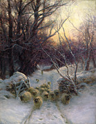 Joseph Farquharson - The Sun had closed the Winter Day