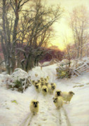 Joseph Farquharson - The Sun Had Closed the Winter