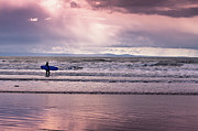 Surfer Photos - The Surfer by Justin Albrecht