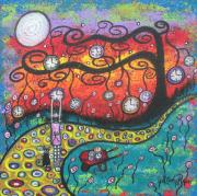 Whimsical painting by Whimsical Artist Juli Cady Ryan