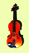 Wingsdomain Art and Photography - The Violin . Light Version . Painterly
