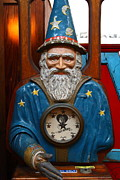 Wingsdomain Art and Photography - The Wizard At The Musee Mecanique At...