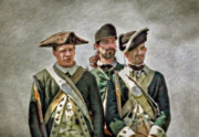 Randy Steele - Three Loyalist Soldiers Portrait...
