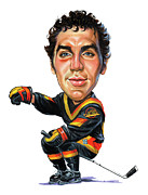 Nhl Paintings - Tiger Williams by Art