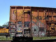 Anne Cameron Cutri - Train Car Graffiti 1