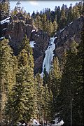 Wolf Creek Originals - Treasure Falls Wolf Creek Pass CO by John Wright