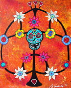 Pristine Cartera Turkus - Tree Of Life Day Of The Dead