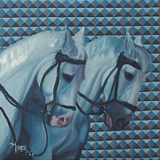 Trippy Paintings - Trippy - Horse Painting by Khairzul MG
