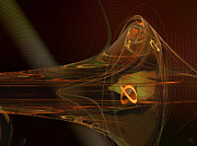 Trombone Digital Art - Trumpet by Nafets Nuarb