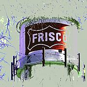 Diana Moya - TWIGGY - Old Frisco Water Tower